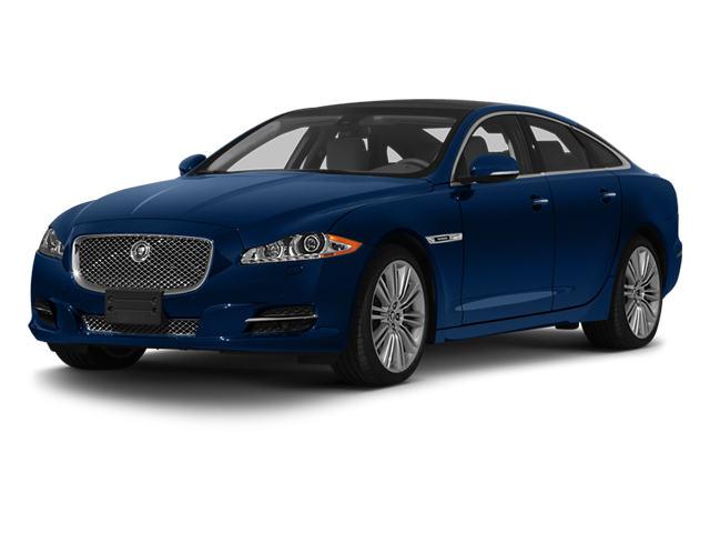 Indigo Blue 2013 Jaguar XJ Pictures XJ Sedan 4D Supersport V8 photos front view