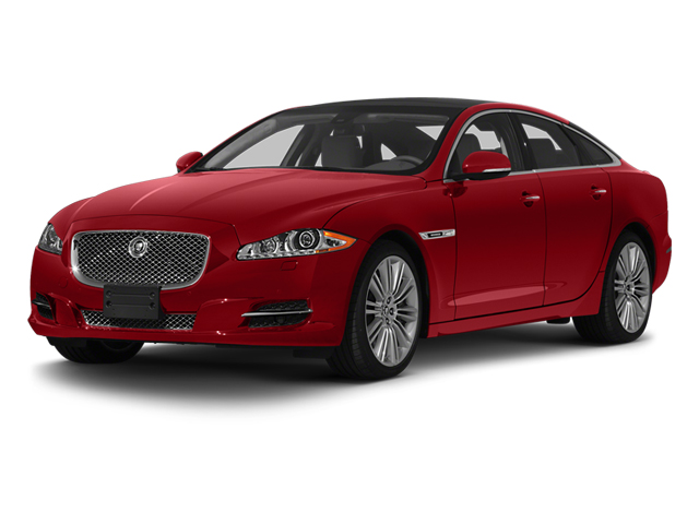 Italian Racing Red 2013 Jaguar XJ Pictures XJ Sedan 4D Speed V8 Supercharged photos front view