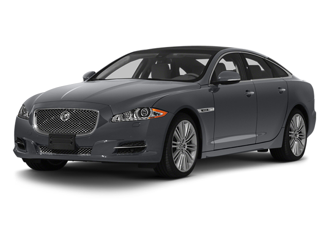 Lunar Grey 2013 Jaguar XJ Pictures XJ Sedan 4D Speed V8 Supercharged photos front view