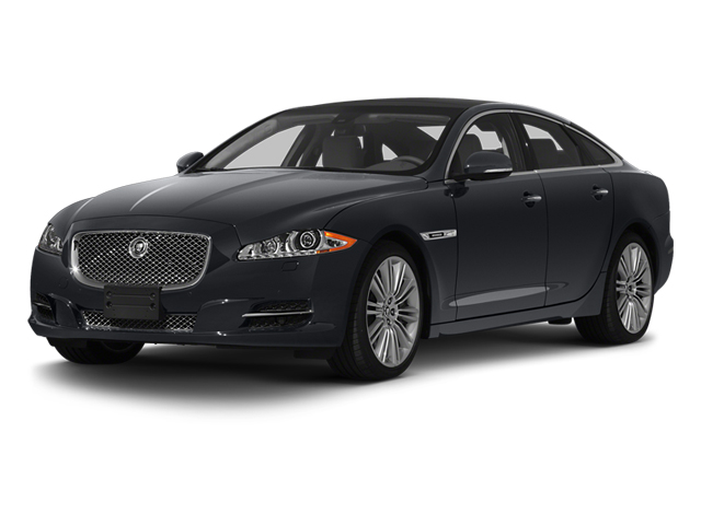 Stratus Grey 2013 Jaguar XJ Pictures XJ Sedan 4D Speed V8 Supercharged photos front view