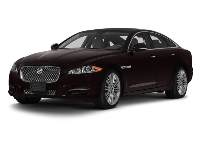 Ultimate Black 2013 Jaguar XJ Pictures XJ Sedan 4D Speed V8 Supercharged photos front view