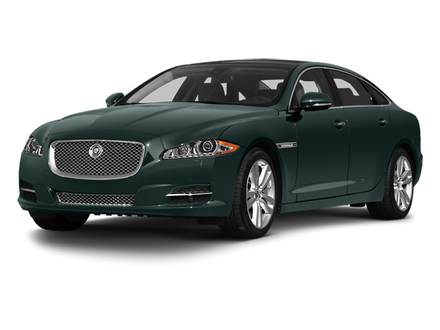 British Racing Green 2013 Jaguar XJ Pictures XJ Sedan 4D L Portfolio AWD V6 photos front view