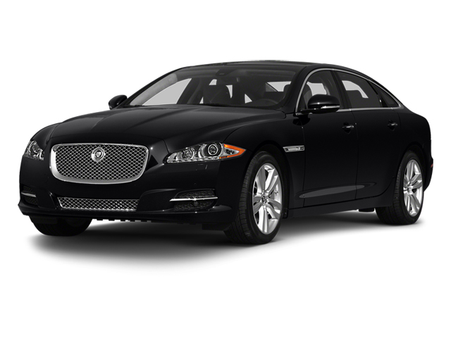 Ebony 2013 Jaguar XJ Pictures XJ Sedan 4D L Supersport Speed V8 photos front view