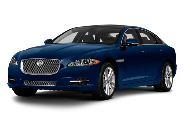 Indigo Blue 2013 Jaguar XJ Pictures XJ Sedan 4D L Portfolio AWD V6 photos front view