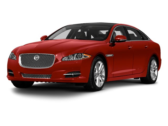 Italian Racing Red 2013 Jaguar XJ Pictures XJ Sedan 4D L Supersport Speed V8 photos front view