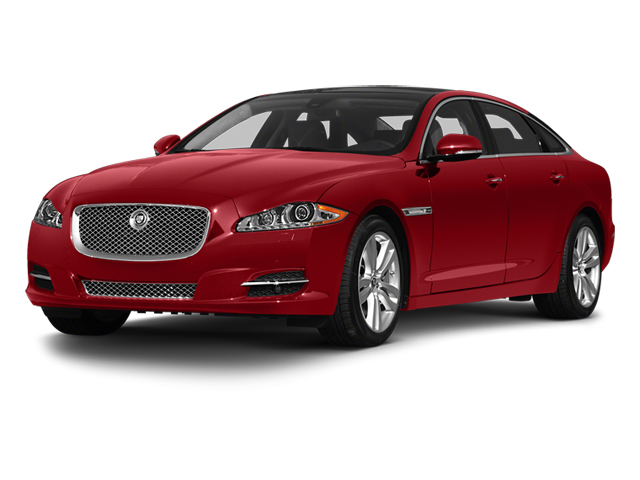 Italian Racing Red 2013 Jaguar XJ Pictures XJ Sedan 4D L Portfolio AWD V6 photos front view