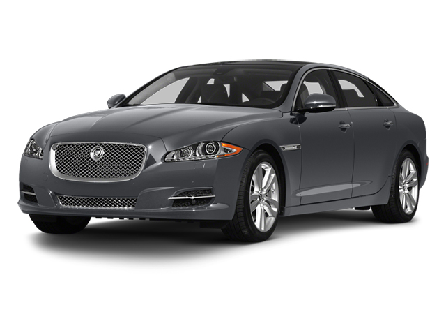 Lunar Grey 2013 Jaguar XJ Pictures XJ Sedan 4D L Supersport Speed V8 photos front view