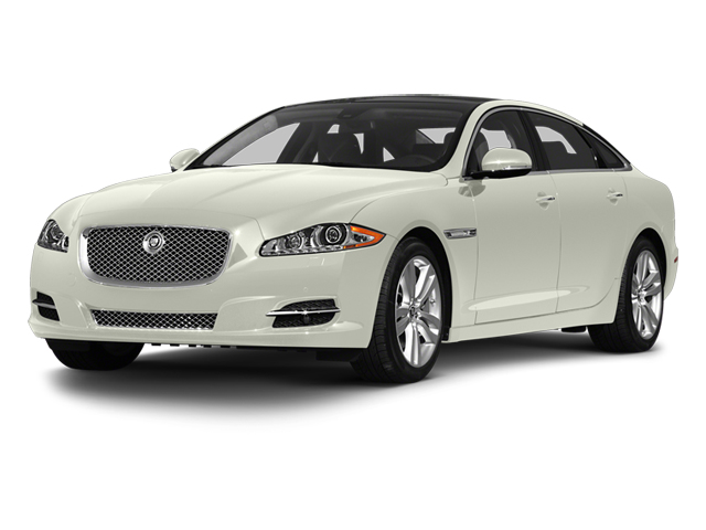 Polaris White 2013 Jaguar XJ Pictures XJ Sedan 4D L Portfolio AWD V6 photos front view
