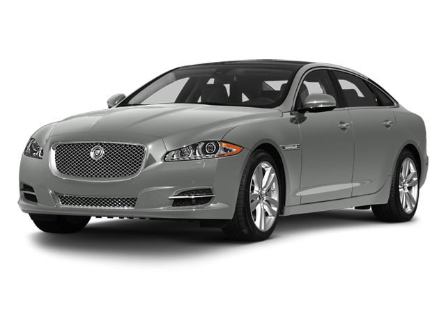 Rhodium Silver 2013 Jaguar XJ Pictures XJ Sedan 4D L Portfolio AWD V6 photos front view