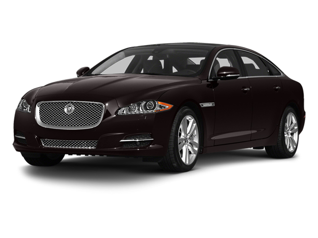 Ultimate Black 2013 Jaguar XJ Pictures XJ Sedan 4D L Portfolio AWD V6 photos front view