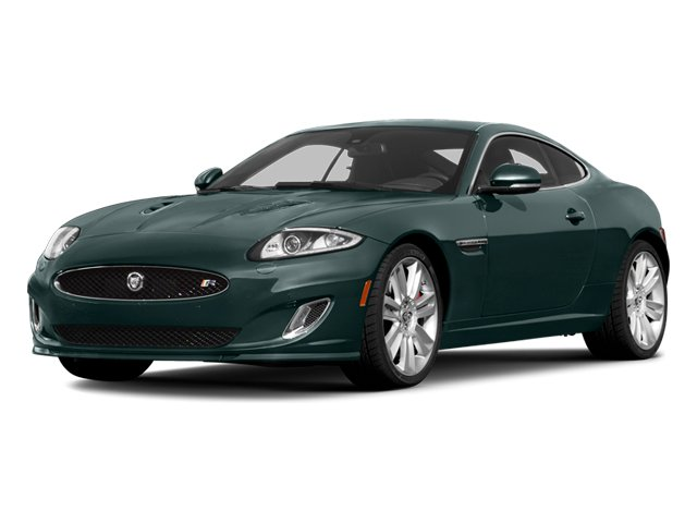British Racing Green 2013 Jaguar XK Pictures XK Coupe 2D XKR Supercharged photos front view