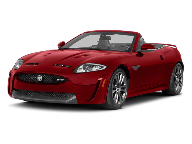 Italian Racing Red 2013 Jaguar XK Pictures XK Convertible XKR-S Supercharged photos front view