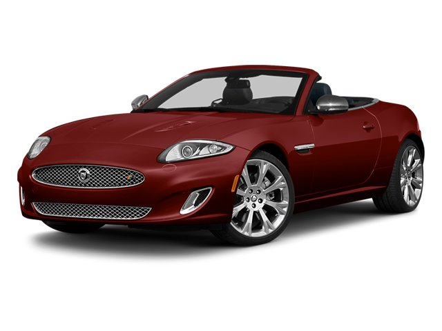 Claret 2013 Jaguar XK Pictures XK Convertible XKR Supercharged photos front view
