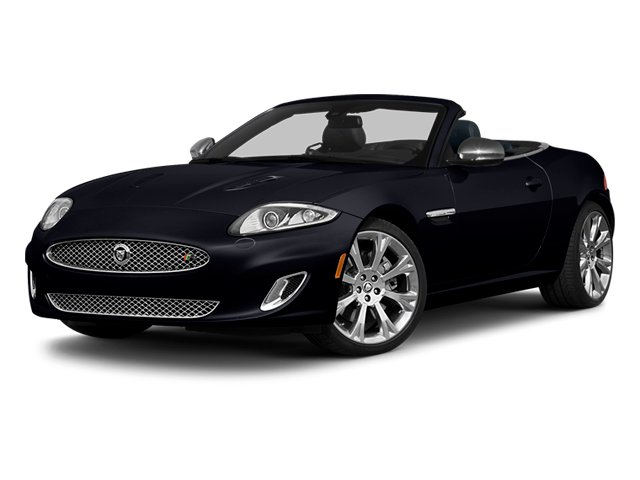 Celestial Black 2013 Jaguar XK Pictures XK Convertible XKR Supercharged photos front view