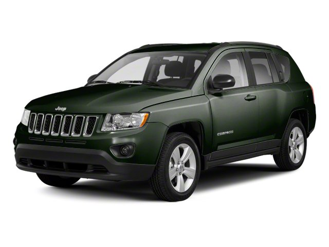 Black Forest Green Pearl 2013 Jeep Compass Pictures Compass Utility 4D Sport 2WD photos front view