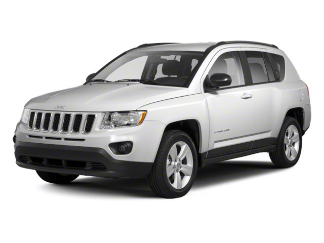 Bright White 2013 Jeep Compass Pictures Compass Utility 4D Latitude 4WD photos front view