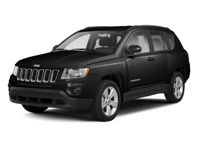 Black 2013 Jeep Compass Pictures Compass Utility 4D Latitude 4WD photos front view