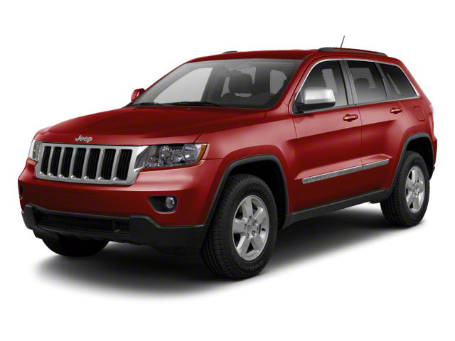 Deep Cherry Red Crystal Pearl 2013 Jeep Grand Cherokee Pictures Grand Cherokee Utility 4D Laredo 4WD photos front view