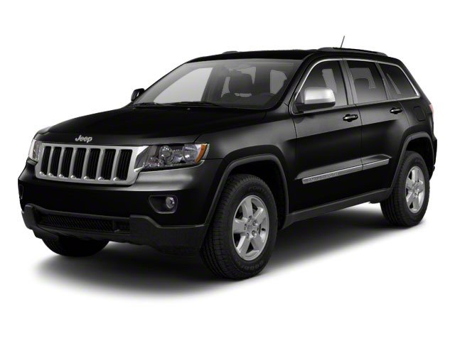 Brilliant Black Crystal Pearl 2013 Jeep Grand Cherokee Pictures Grand Cherokee Utility 4D Laredo 4WD photos front view