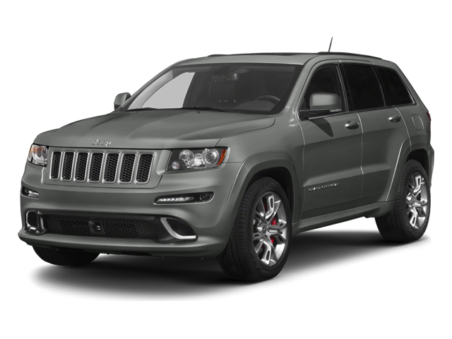 Mineral Gray Metallic 2013 Jeep Grand Cherokee Pictures Grand Cherokee Utility 4D SRT-8 4WD photos front view