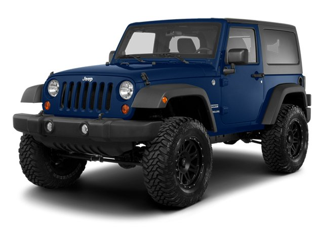 True Blue Pearl 2013 Jeep Wrangler Pictures Wrangler Utility 2D Sahara 4WD photos front view