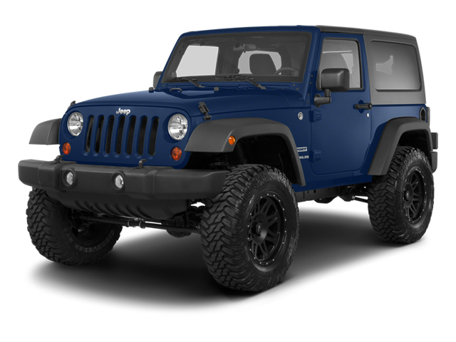 True Blue Pearl 2013 Jeep Wrangler Pictures Wrangler Utility 2D Rubicon 4WD photos front view