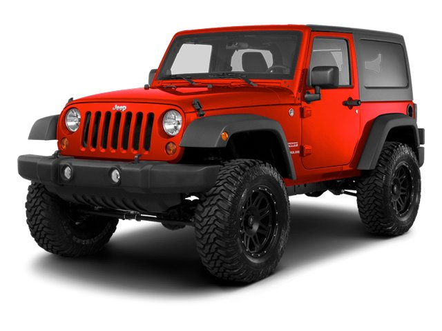 Flame Red 2013 Jeep Wrangler Pictures Wrangler Utility 2D Sahara 4WD photos front view