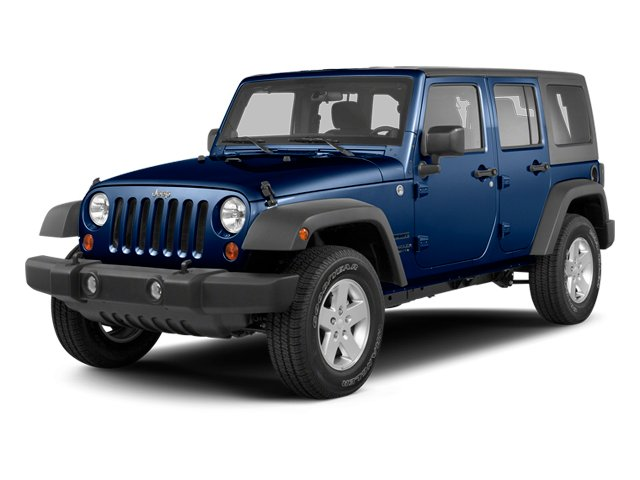 True Blue Pearl 2013 Jeep Wrangler Unlimited Pictures Wrangler Unlimited Utility 4D Unlimited Sahara 4WD photos front view