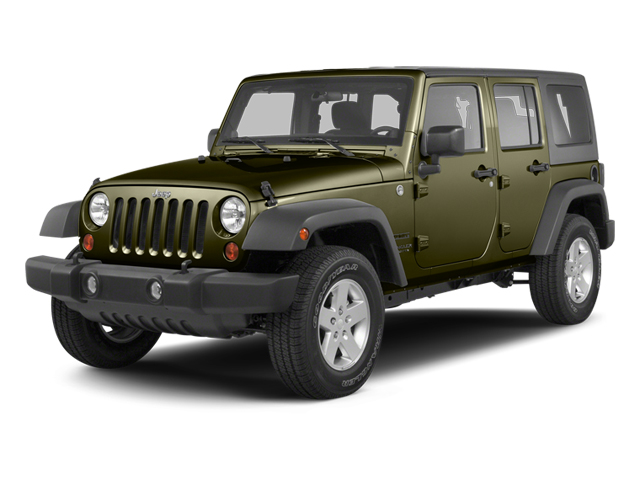 Commando Green 2013 Jeep Wrangler Unlimited Pictures Wrangler Unlimited Utility 4D Unlimited Sahara 4WD photos front view