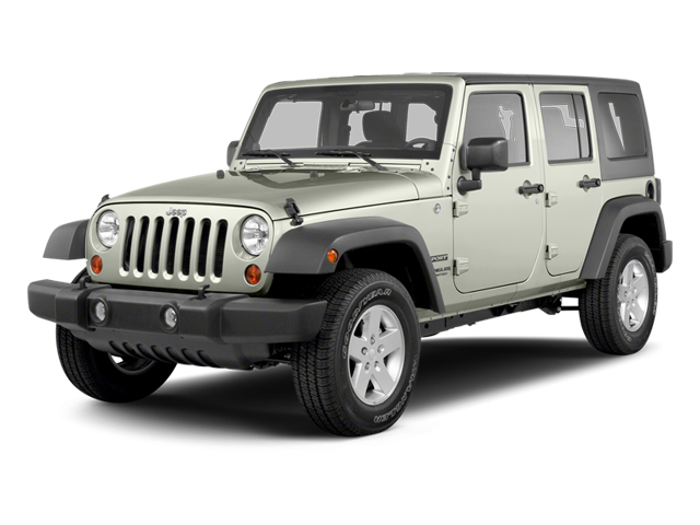 Bright White 2013 Jeep Wrangler Unlimited Pictures Wrangler Unlimited Utility 4D Unlimited Sahara 4WD photos front view