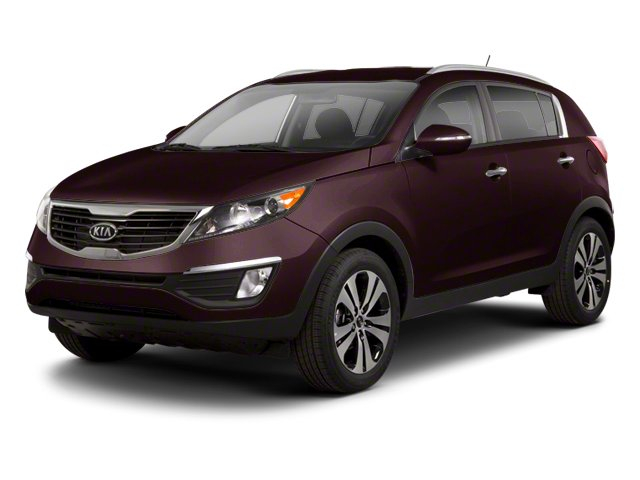 Black Cherry 2013 Kia Sportage Pictures Sportage Utility 4D LX 2WD I4 photos front view