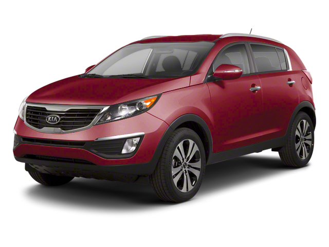 Signal Red 2013 Kia Sportage Pictures Sportage Utility 4D EX 2WD I4 photos front view