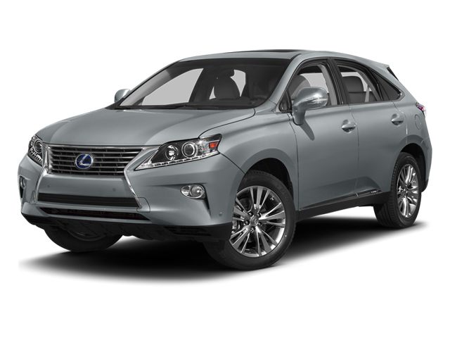 Silver Lining Metallic 2013 Lexus RX 450h Pictures RX 450h Utility 4D AWD photos front view