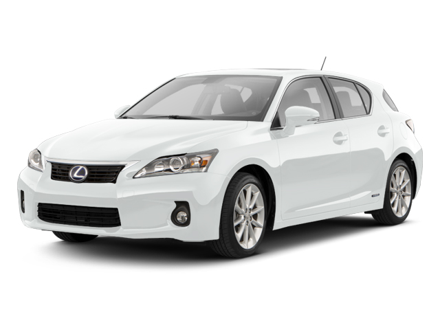 Silver Lining Metallic 2013 Lexus CT 200h Pictures CT 200h Hatchback 5D CT200h I4 Hybrid photos front view