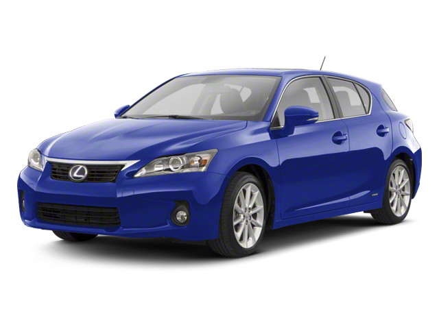 Ultrasonic Blue Mica 2013 Lexus CT 200h Pictures CT 200h Hatchback 5D CT200h I4 Hybrid photos front view