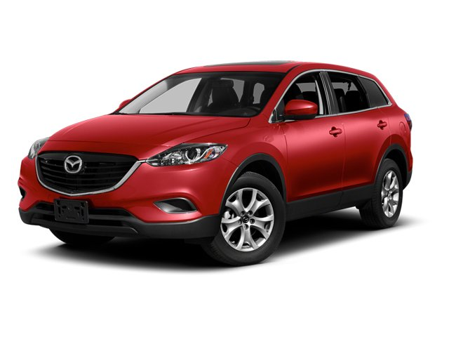 Zeal Red Mica 2013 Mazda CX-9 Pictures CX-9 Utility 4D GT AWD V6 photos front view