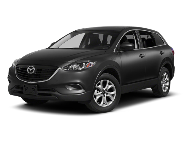 Brilliant Black 2013 Mazda CX-9 Pictures CX-9 Utility 4D Sport AWD V6 photos front view