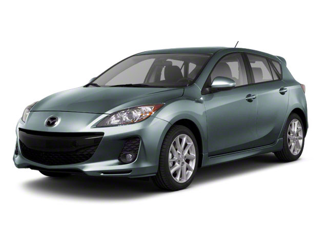 Dolphin Gray Mica 2013 Mazda Mazda3 Pictures Mazda3 Wagon 5D s GT I4 photos front view