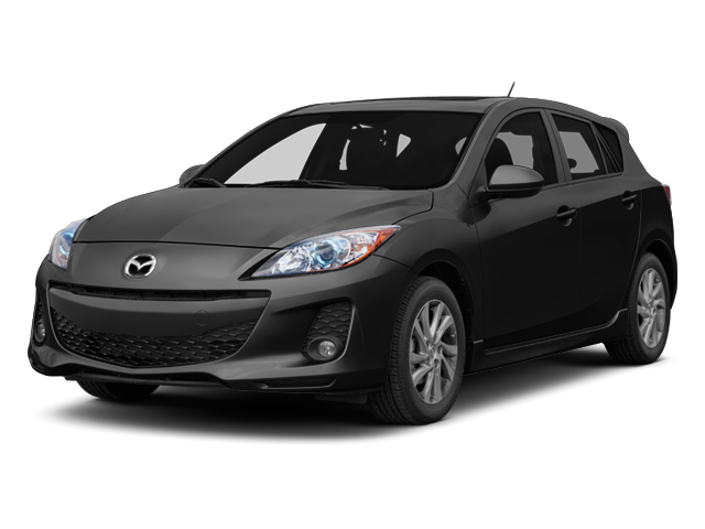 Black Mica 2013 Mazda Mazda3 Pictures Mazda3 Wagon 5D i Touring I4 photos front view