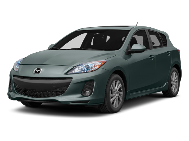 Dolphin Gray Mica 2013 Mazda Mazda3 Pictures Mazda3 Wagon 5D i Touring I4 photos front view