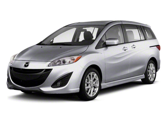Liquid Silver Metallic 2013 Mazda Mazda5 Pictures Mazda5 Wagon 5D Sport I4 photos front view