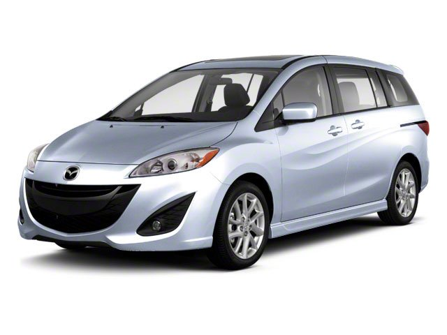 Clear Water Blue Metallic 2013 Mazda Mazda5 Pictures Mazda5 Wagon 5D Touring I4 photos front view