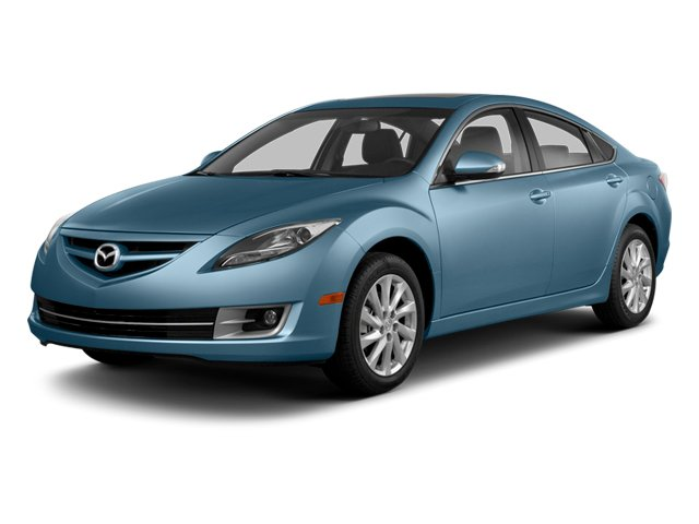 Steel Blue Mica 2013 Mazda Mazda6 Pictures Mazda6 Sedan 4D i Touring Plus photos front view