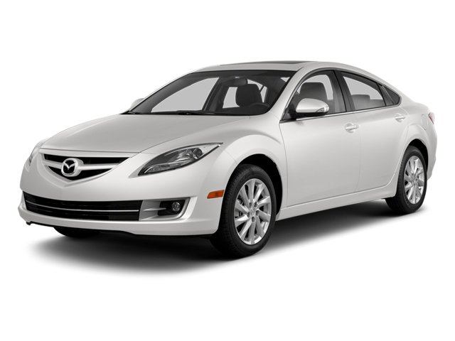 White Platinum Pearl 2013 Mazda Mazda6 Pictures Mazda6 Sedan 4D i Touring Plus photos front view