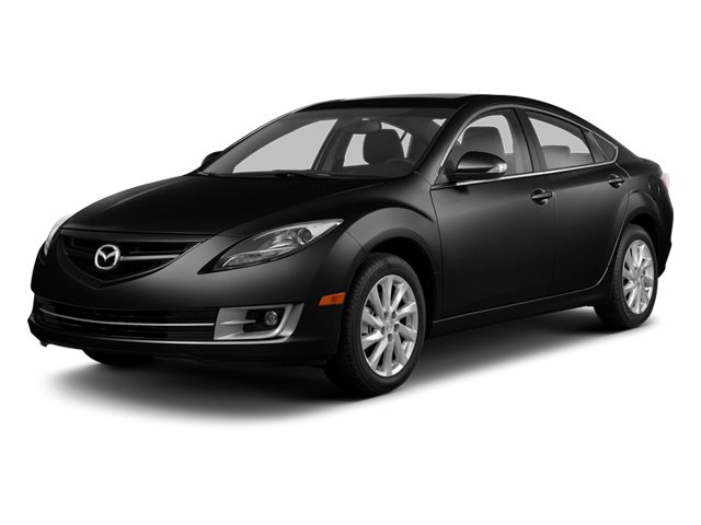 Ebony Black 2013 Mazda Mazda6 Pictures Mazda6 Sedan 4D i Touring Plus photos front view