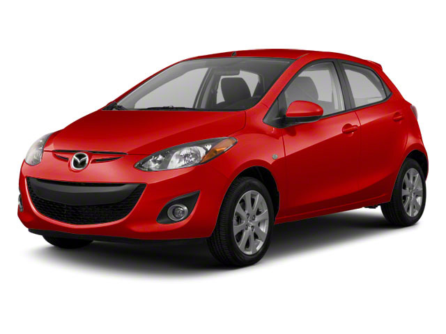 True Red 2013 Mazda Mazda2 Pictures Mazda2 Hatchback 5D Touring I4 photos front view