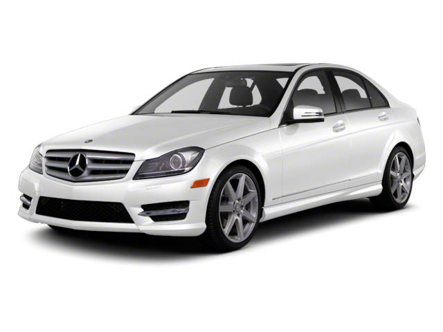Polar White 2013 Mercedes-Benz C-Class Pictures C-Class Sport Sedan 4D C250 photos front view