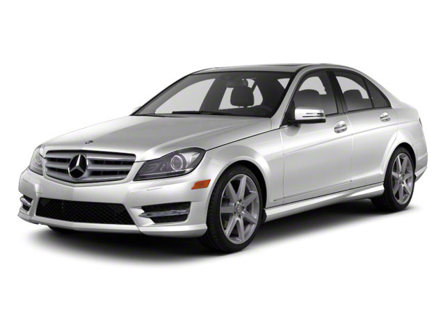 Iridium Silver Metallic 2013 Mercedes-Benz C-Class Pictures C-Class Sport Sedan 4D C250 photos front view