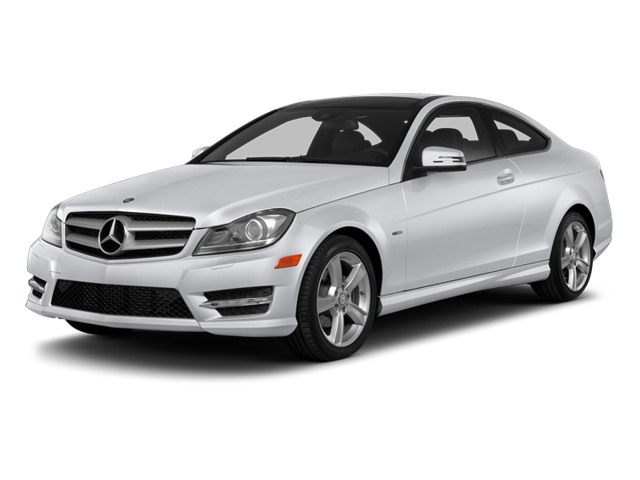 Polar White 2013 Mercedes-Benz C-Class Pictures C-Class Coupe 2D C250 photos front view
