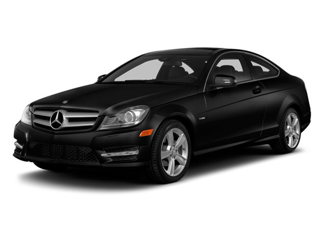 Magnetite Black Metallic 2013 Mercedes-Benz C-Class Pictures C-Class Coupe 2D C250 photos front view